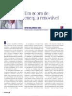 Um sopro de energia renovável-Revista Custo Brasil, ano,no 25, fev-mar 2010