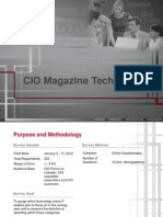 CIO Tech Poll 2012