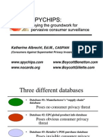 RFID Presentation - Katherine Albrecht