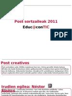 Post Sortzaileak 2011 Educ@contic [EUS] #3