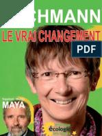 Document de campagne de Nicole ESCHMANN