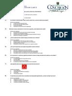 Cuestionario Clase B Examen Teórico de Conducción 1 de 2