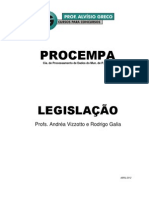 Apostila Legislacao Procempa Profaandreavizzotto