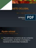 Ajuste Oclusal German