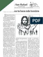 Boletín Parroquial del 11 de marzo de 2012