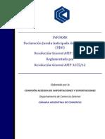 Informe RG AFIP 3252