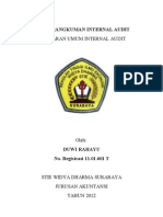 Tugas Rangkuman Internal Audit
