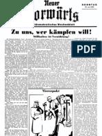 Neuer Vorwaerts - Sozialdemokratisches Wochenblatt 1933-06-25 - Nr. 02 (4 S., Scan)