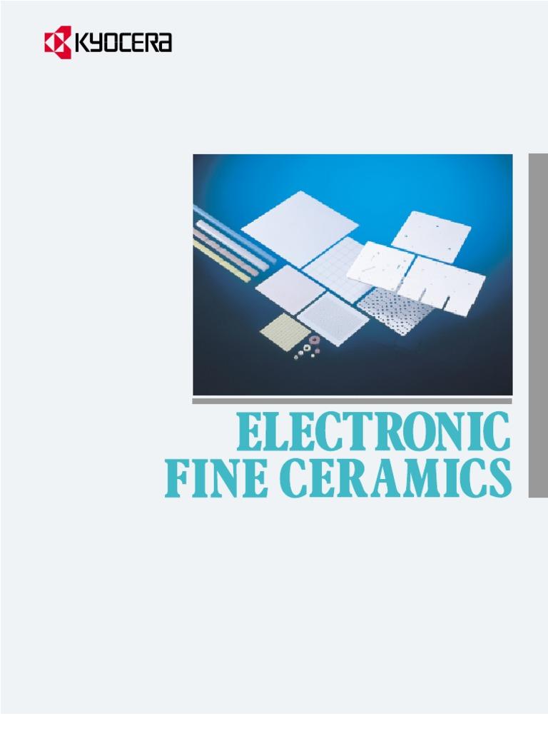 Kyocera Substrates) Electronic Fine Ceramics | Wafer