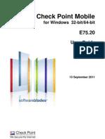 CP E75.20 Mobile Client Windows User Guide