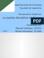 quinta disciplina (EN PROCESO) (Copia conflictiva de William Montañez 2012-05-18)