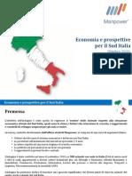 Indagine Economia Sud Italia