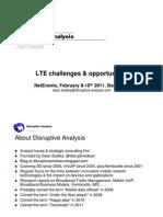 Disruptive Analysis - LTE Intro