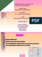 EXPOSICION MEDICAMENTOS PSIQUIATRIA