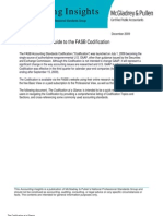 Quick FASB Codification Guide