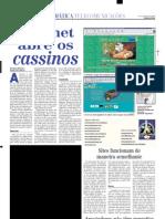 noticia jornal em - ara cassinos virtuais 5_10_2002
