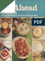 Betty Crocker's Do-Ahead Cookbook