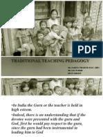 Traditional Pedagogy