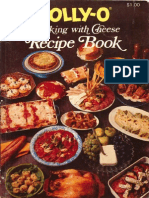 Polly-O Cooking With Cheese Recipe Books