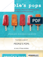 Recipes From People's Pops by Nathalie Jordi, David Carrell, And Joel Horowitz
