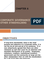 Cg and Other Stake Holders