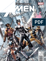 Astonishing X-Men Issue 50 Preview