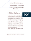 Formal Specification of Structural and Behavioral Aspects of Design Patterns