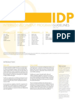 IDP Guidelines