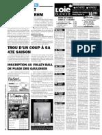 Petites annonces et offres d'emploi du Journal L'Oie Blanche du 23 mai 2012