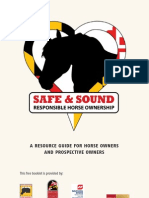 Safe & Sound - Responsible Horse Ownership