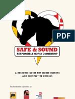 Safe & Sound - Responsible Horse Ownership