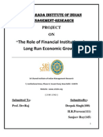 Management of Financial Institutions Project