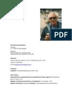 Hoja de Vida Juan Carlos Pérgolis
