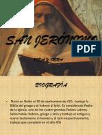 SAN JERÓNIMO presentación Power point (2)