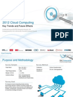 IDG Enterprise Cloud Research 2012 Excerpt