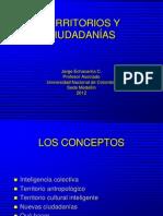 TERRITORIOS Y CIUDADANÍAS