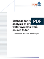 Risk Analysis in Water Drinking Systems