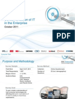IDG Enterprise Consumerization of IT 2012 Excerpt