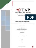 Diseno y Estructura Organizacional