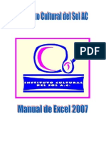 Manual de Excel 2007 ICS