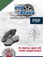 SPEED BRAKE CATÁLOGO PASTILHAS 2012