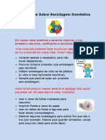 Concelhos Sobre Reciclagem Doméstica
