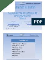 Intruduccion - Fundamentos de Sistemas de Comunicaciones