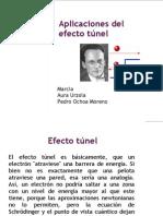 Aplicaciones del efecto túnel