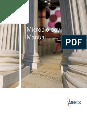 Merck Microbiology Manual 12th | Growth Medium | Bacteria
