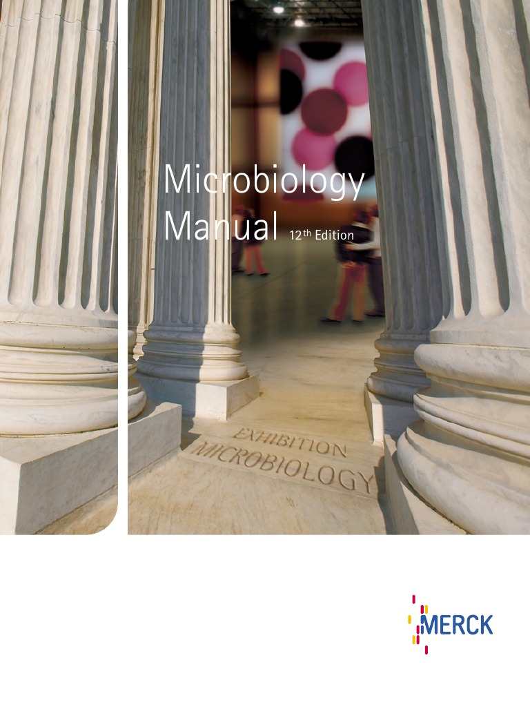 Merck microbiology manual 12th growth medium bacteria fandeluxe Image collections