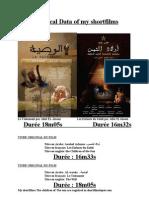 L'Affiches de Mes Films Et CV-Awaled Achams