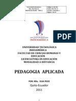 Contenidos Pedagogia Aplicada Taller 2