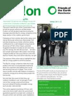 Manchester FoE Newsletter November 2011