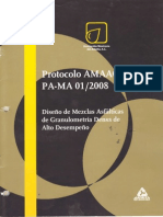 DISEÑO MEZCLAS ASFALTICAS DE GRANULOMETRIA DENSA